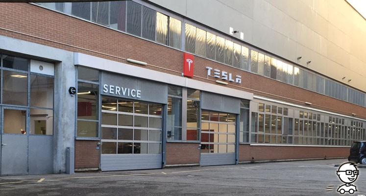 Tesla Service-Center in Bern